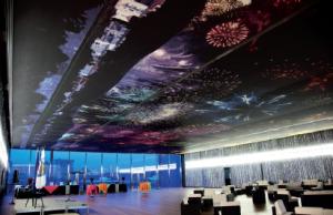 Plafond de la salle des Rencontres à Montpellier