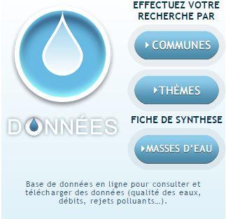 Base de données en ligne sur la qualité de l'eau Rhin-Meuse