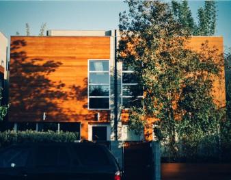 Nouveau logement en bois basse consommation